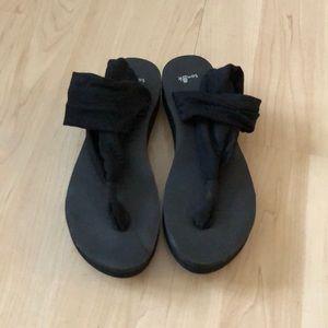 Sanuk Platform Yoga Sandals